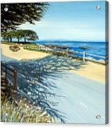 Monterey Shadows Acrylic Print
