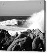 Monterey Waves Acrylic Print