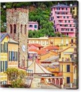 Monterosso Al Mare Cinque Terre Italy Acrylic Print