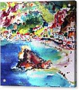 Monterosso  Cinque Terre Italy  Acrylic Print