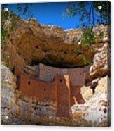 Montezuma Castle In Arizona Acrylic Print by Jen White