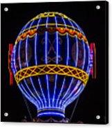 Montgolfier Acrylic Print