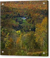 Montgomery Hillside Of Color Acrylic Print