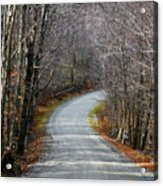 Montgomery Mountain Rd. Acrylic Print