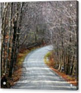 Montgomery Mountain Road Acrylic Print