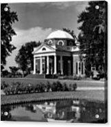 Monticello, Home Of Thomas Jefferson Acrylic Print