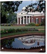 Monticello Reflections Acrylic Print