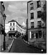 Montmarteparis France Acrylic Print