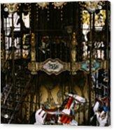 Montmartre Carousel Acrylic Print