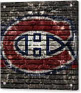 Montreal Canadiens Habshype Acrylic Print