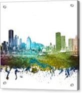 Montreal Cityscape 01 Acrylic Print