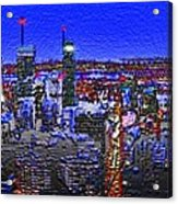 Montreal Etched Acrylic Print