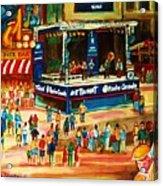 Montreal Jazz Festival Acrylic Print