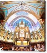 Montreal Notre-dame Basilica Acrylic Print