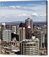 Montreal Seen From Above Acrylic Print