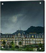Montreux Palace Acrylic Print