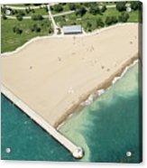 Montrose Beach Acrylic Print
