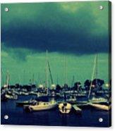Montrose Harbor Evening Acrylic Print
