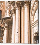 Montserrat Monastery Acrylic Print