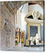 Monument In St Mylor Church Acrylic Print