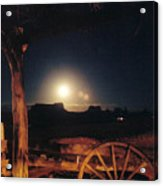 Monument Moonrise Acrylic Print