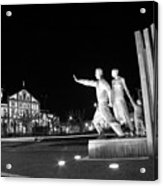 Monument To The Emigrant Acrylic Print