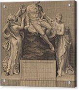 Monument To William Shakespeare Acrylic Print