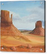 Monument Valley    The Mittens Acrylic Print