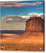 Monument Valley At Dusk Acrylic Print