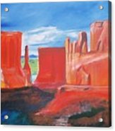 Monument Valley  Acrylic Print