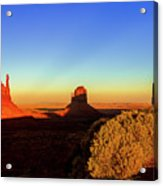 Monument Valley Evening Acrylic Print