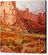 Monument Valley Iv Acrylic Print