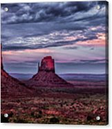 Monument Valley Mittens Acrylic Print