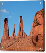 Monument Valley Nymph #3 Acrylic Print