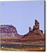 Monument Valley Pano Acrylic Print