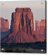 Monument Valley Sunrise 7288 Acrylic Print