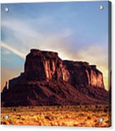 Monument Valley sunset Acrylic Print