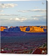 Monument Valley Sunset Two Acrylic Print