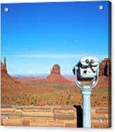 Monument Valley, Usa Acrylic Print