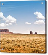 Monument Valley Wide Angle Acrylic Print