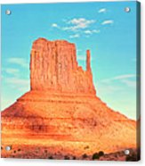 Monument Valley Wide View Acrylic Print