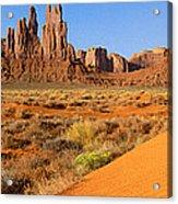 Monument Valley,arizona Acrylic Print