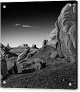 Monument Valley Rock Formations Acrylic Print