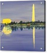 Monumental Evening Acrylic Print