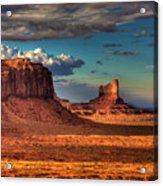 Monumental Shadows Acrylic Print