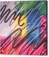 Moodpainting16- Confusion Acrylic Print
