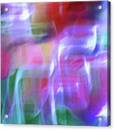 Moods Abstract Square Acrylic Print
