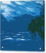 Moods Of The Sea Surreal Acrylic Print