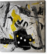 Moods Yellow Let It All Hang Out Acrylic Print