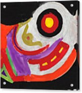Moody Art Student Acrylic Print